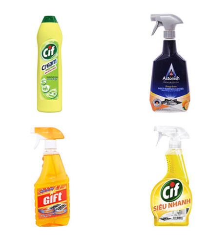 Một số thương hiệu nước vệ sinh nhà bếp được nhiều người tin dùng